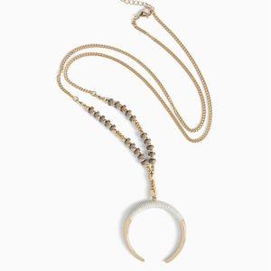 Torrid Wrap Horn Pendant Necklace